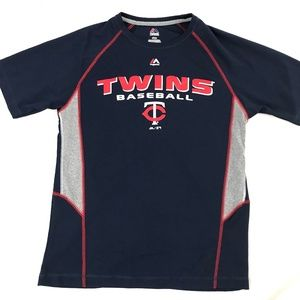EUC Minnesota Twins Baseball Jersey T-Shirt Medium